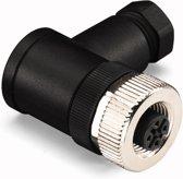 Wago 756-9215/050-000 M12 Zwart, Zilver kabel-connector