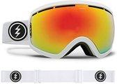 Electric skibril EG2.5 Wit - met Brose Red Chrome lens