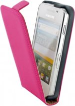 Mobiparts Premium Flip Case Samsung Galaxy Ace Pink