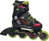 Fila X One Skate Junior Inlineskates - Maat 38-41Kinderen - zwart/rood/groen