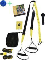 TRX - Suspension trainer - Full Body Training - Gratis Instructievideo - Draagtas - Uitleg Oefeningen