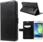 Kds PU Leather Wallet case cover hoesje Samsung Galaxy Grand 2 zwart