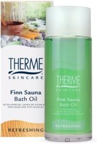 Therme Finn Sauna Bath Olie - 100 ml - Badolie
