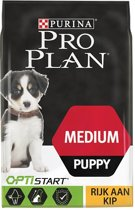 Pro Plan Medium Puppy - Kip met Optistart - Hondenvoer - 12 kg