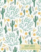 2019-2023 Five Year Planner- Cactus Garden
