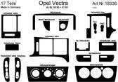 Richter Prewoodec Interieurset Opel Vectra B 9/1995-1/1999 16-delig - Wortelnoot