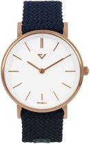 Prisma Unisex P.1629.WG22 horloge Nylon blauw 5 ATM