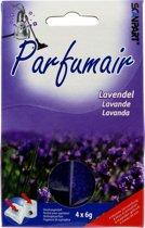 Parfumair geurparels lavendel 4x6g