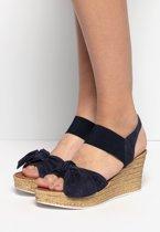 Cellini Dames Sandalen - Blauw - Maat 36