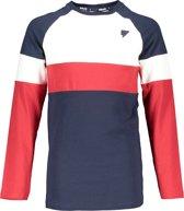Bellaire Jongens Lange mouw T-shirt - Wit - Maat 110/116