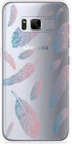 Galaxy S8 Hoesje Feathers
