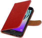 Samsung Galaxy A3 2017 A320F Rood | Premium PU Leder bookstyle / book case/ wallet case  | WN™