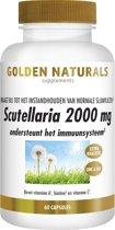 Golden Naturals Scutellaria 2000 mg (60 vegetarische capsules)