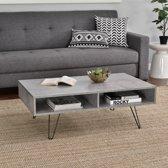 Moderne salontafel - Preston - betonlook