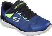 Skechers Flex Advantage 3.0 Transvert Jongens Sneakers - Blauw - Maat 35