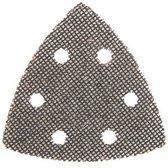 Silverline Driehoekige klittenband gaas schuurvellen, 105 mm, 10 Stuks 80 korrelgrofte