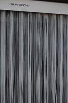 Sun-Arts Deurgordijn - palermo transparant - wit - 90 x 210 cm