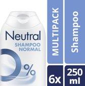 Neutral 0% Shampoo - 5 x 250 ml - Voordeelverpakking