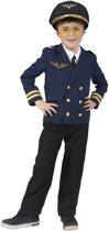 Piloten verkleed jasje voor kinderen - Carnavalskleding - verkleed accessoire voor kinderen 140 (10 jaar)