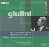 Giulini Conducts Weber, Schubert, Britten