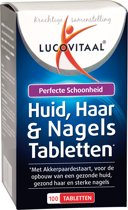 Lucovitaal - Huid, Haar & Nagels Tabletten - 100 Tabletten - Voedingssupplementen