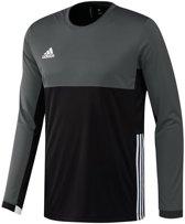 adidas T16 'Oncourt' Long Sleeve Shirt Heren - Shirts  - zwart - XL