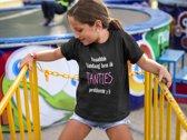 Kinder T-shirt 6jr: Yeaahh Vandaag ben ik Tanties probleem ;-)
