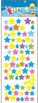 Stickervel sterren