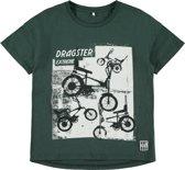 Name it Jongens T-shirt - Green Gables - Maat 134-140
