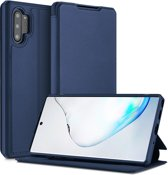 Samsung Galaxy Note 10 Plus hoes - Dux Ducis Skin X Case - Donker Blauw