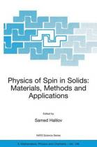 Physics of Spin in Solids