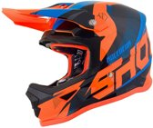 Shot Kinder Crosshelm Furious Ultimate Blue/Neon Orange-M