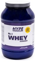 Hype Nutrition Nr.1 Whey Protein 2000g Aardbei