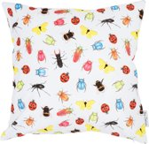 by Sorcia - sierkussen Colourfull Insects - 45x45cm - katoen - designed in Holland