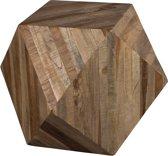 Dutchbone Deco Table Geo - Bijzettafel - Bruin