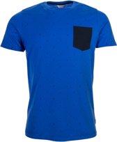 Jack & Jones T-shirt - Maat S  - Mannen - blauw