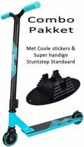 Black Dragon Stuntstep Combo Pakket Blauw