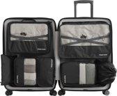 Packing Cubes Set - Koffer Organizer - Set van 7 - Inpak kubussen - Opbergzakken voor Koffer & Backpack - Zwart