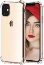 Apple iPhone 11 Hoesje - Anti Shock Hybrid Case - Transparant