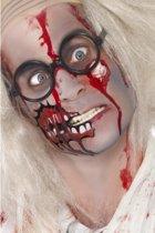 Halloween Zombie schmink set met litteken