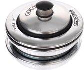 Ergotec Balhoofdstel10,0mm Draadloos 1 1/8 Inch Staal Zilver