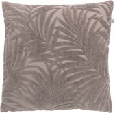 Dutch Decor Sierkussen Frits 45x45 cm taupe