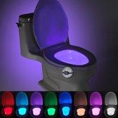 Pikachu Elf bal stijl motie geactiveerde Sensor nachtlampje  Detector voor thuis Toilet badkamer stoel  multi-mode 7 kleur Light(White)