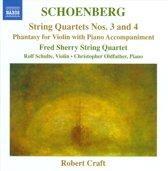 Schoenberg: String Qu. 3+4