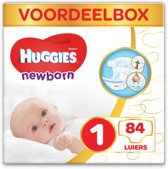 Huggies Newborn Luiers - Maat 1 - 2 tot 5 kg - 84 stuks