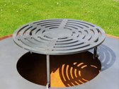 The Dot BBQ, etagiere voor op de Co-Fire GrillRing 80