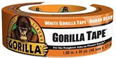 Gorilla Tape White - Wit 27 meter