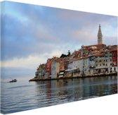 Rovinj Kroatie Canvas 30x20 cm - Foto print op Canvas schilderij (Wanddecoratie)