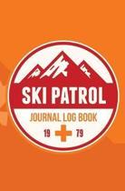 Ski Patrol Journal Log Book 1979
