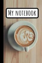 My Coffe Mug Notebook